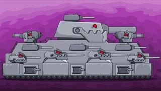 Как Нарисовать Танк ГИБРИД ТИТАН - Мультики про танки