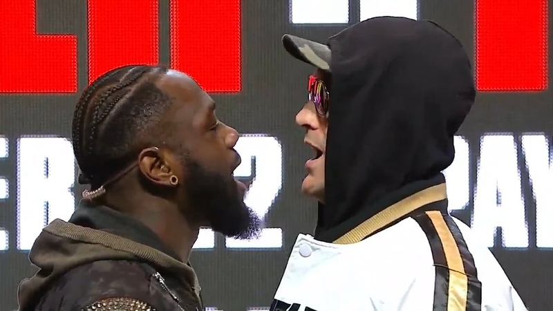 I DARE YOU Listen as Wilder and Fury Come Face to Face FINAL PRESS CONFERENCE WILDER vs FURY 2