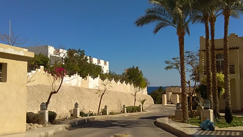 Прогулка по улочкам Отеля (Шарм Эль Шейх)