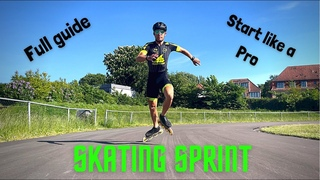 Skating Sprint - Full training to Start and Sprint like a pro inline skater!