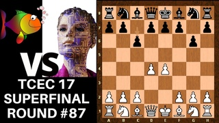 Outrageously provocative prophylaxis! || Mighty Stockfish vs Highly Evolved Leela || TCEC 17 Rd 87
