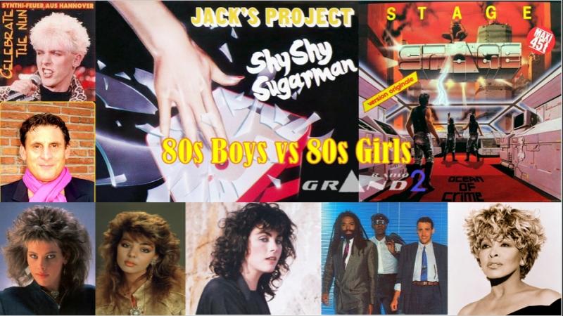 RADIOGRAND 2 80s Boys vs 80s Girls 11 04 18