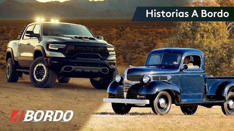 Camionetas pickup de RAM Historias A Bordo con Jaime Gabaldoni