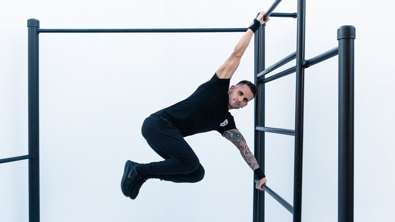 HUMAN FLAG WORKOUT FOR BEGINNERS BY OSVALDO LUGONES