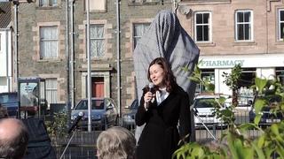 Открытие памятника М.Ю.Лермонтову в Шотландии.