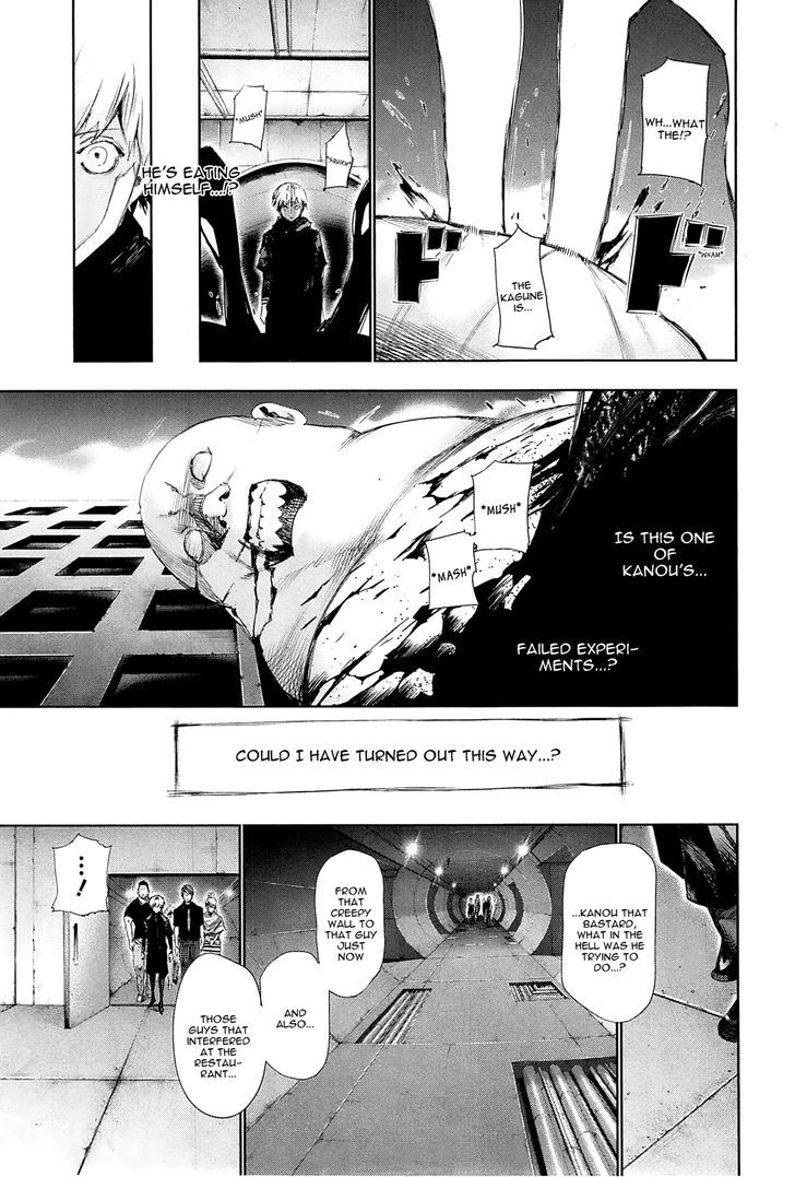 Tokyo Ghoul, Vol. 10 Chapter 96 Underground, image #5