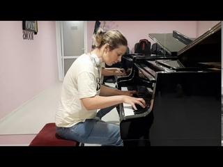 Concerto For Piano Solo quasi Fantasia D-Dur op/10№2 Composer & player  - Anna Korovushkina