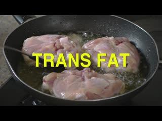 ВОЗ предупреждает: трансжиры убивают