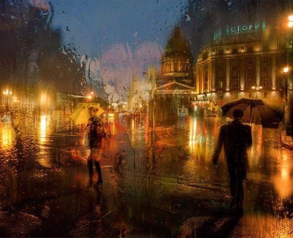 Картинки по запросу дождливый питер