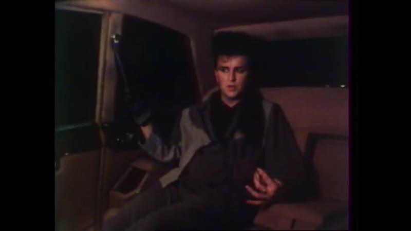 Visage - Steve Strange - Interview in Les Enfants Du Rock (french TV show / circa 1983)