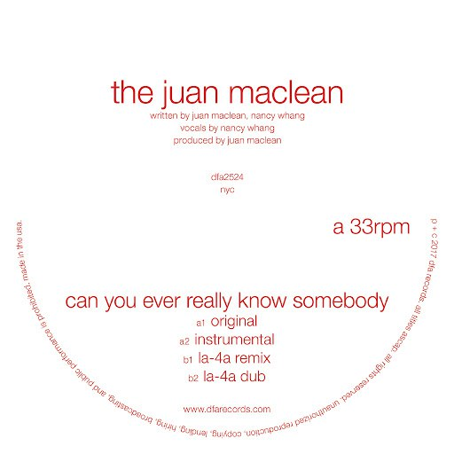 The Juan Maclean альбом Can You Ever Really Know Somebody