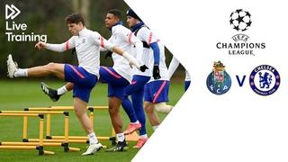 Chelsea Live Training   FC Porto v Chelsea   UEFA Champions League