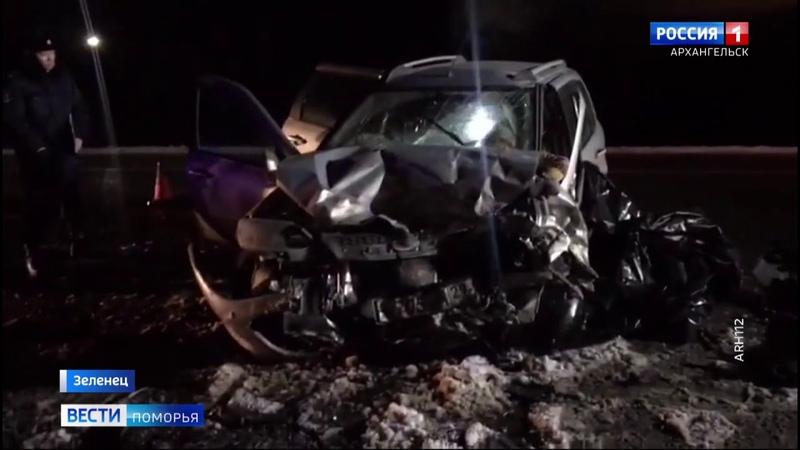 Смертельная авария произошла на трассе Архангельск Северодвинск