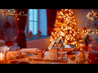CHRISTMAS KITCHEN AMBIENCE: Baking Sounds, Bubbling Liquid, Crunching Sounds, Whipped Cream Sounds