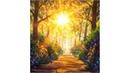 Солнечный лесной пейзаж как нарисовать. Подробный мастер класс рисования ДОРОГА В СОЛНЕЧНОМ ЛЕСУ.