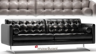 №179. Modeling Sofa  Gran Torino maxdivani  Autodesk 3ds Max & marvelous designer