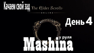 The Elder Scrolls Online : Хил  новичок -  качаемся ( день 4 )
