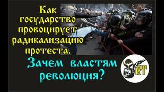 Как государство провоцирует радикализацию протеста. Зачем властям понадобилась революция?