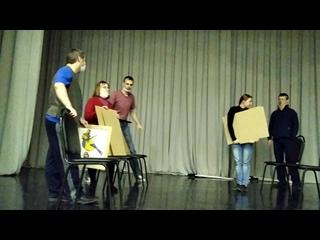 Сценка-репетиция  Дом, который построил Джек