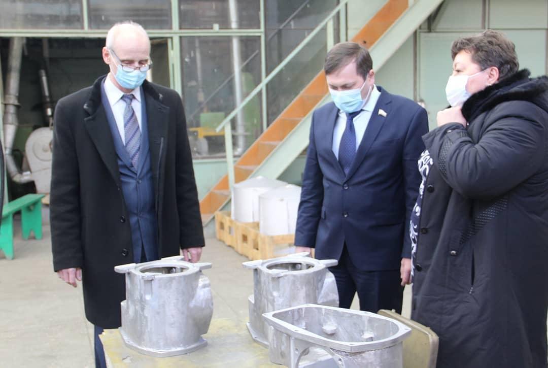 """Петровскому заводу """"Молот"""" помогут с заказами на 2021 год"""