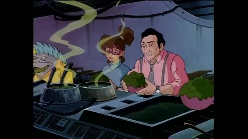 Черепашки мутанты ниндзя Беглецы из Измерения Икс Convicts from Dimension X 1993 Эпизод 159 Сезон 7