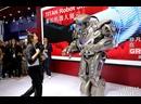 Робот TITAN на выставке вооружения в Абу-Даби