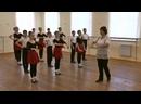 Уроки марийских этнических танцев . Часть 1