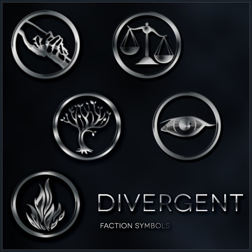 divergent symbols and meanings - 500×500