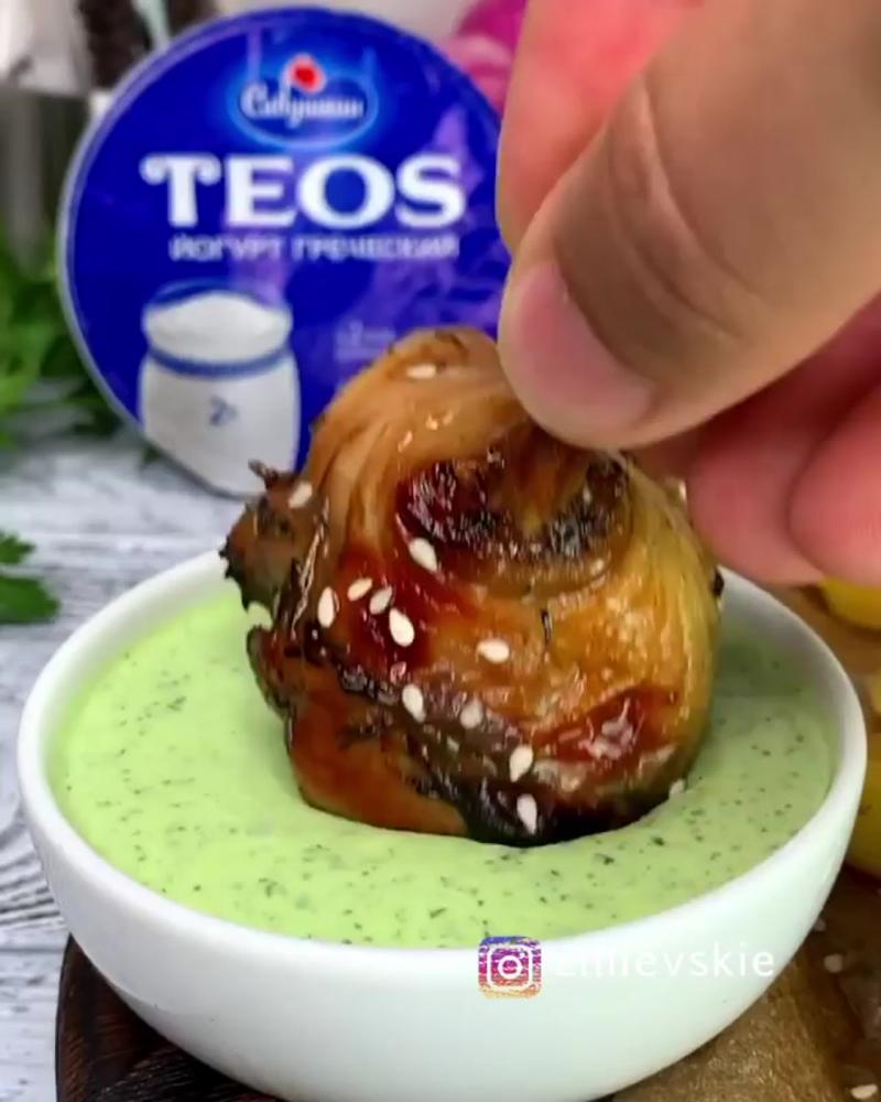 Курочка с натуральным йогуртовым соусом