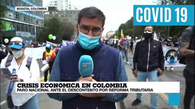 🇨🇴 Informe desde Bogotá A pesar de la pandemia los colombianos acudieron al llamado del paro nacional