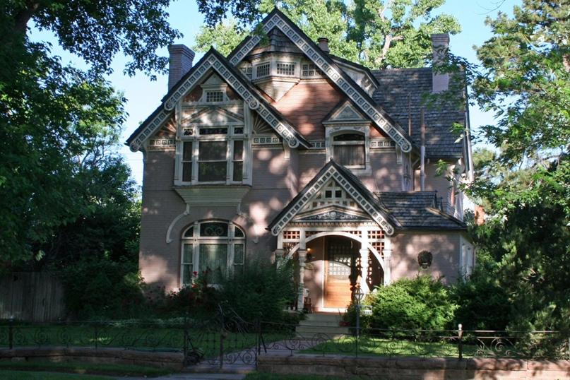 Дом Фредерика В. Нифа в стиле Истлейка, 1886, Денвер, Колорадо