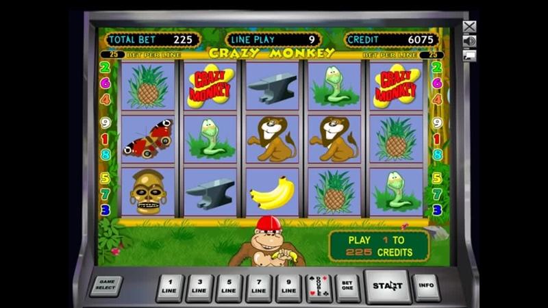 КАК у него ВЫИГРАТЬ Игровой автомат Crazy Monkey Обезьянки Крэйзи Манки в К