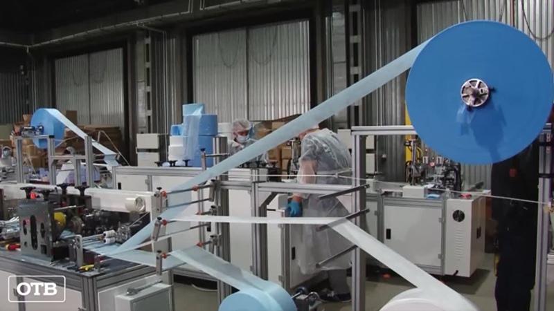 В Среднеуральске начали выпускать материю для медицинских ма