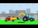 Полный сборник мультиков про синий трактор и его друзей