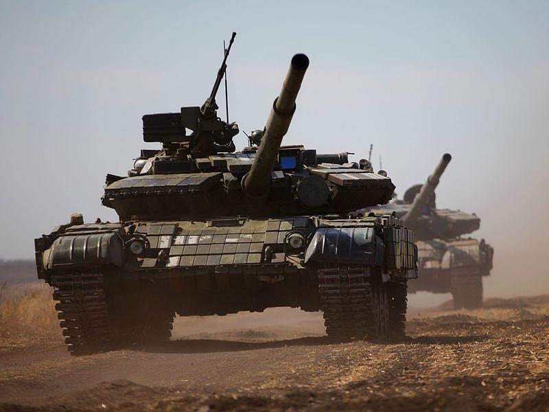 Т-64БВ украинских ВС