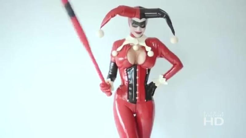 Bianca Beauchamp Sexy Harley Quinn Cosplay