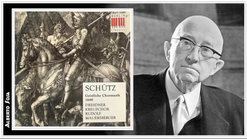 Heinrich Schütz Geistliche Chormusik Op 11 SWV 369 397 Dresdner Kreuzchor Rudolf Mauersberger 1972