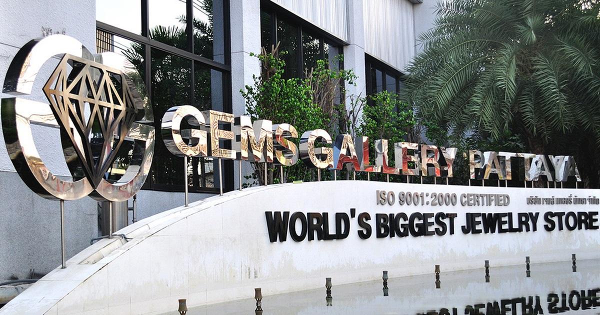 Ювелирная фабрика Gems Gallery в Паттайе фото 18
