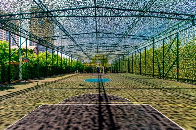 Баскетбольная площадка КНГК-Спорт Краснодар