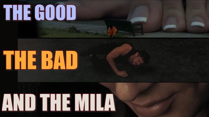 "Giantess Mila The Good The Bad and The Mila"" Giantess Growth FX Trailer"