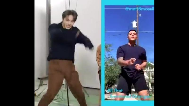 Tiktok dance challenge // Cosmopolitan