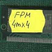 ОЗУ simm FPM 16Mb