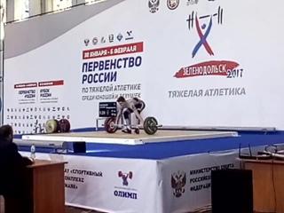 Дмитрий Масленков-01 г/р-кат. 69 кг-рывок-95 кг. г.Зеленодольск  г.