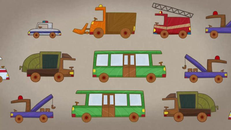 #МАШИНКИ - Правостороннее движение (34) - Мультики для детей