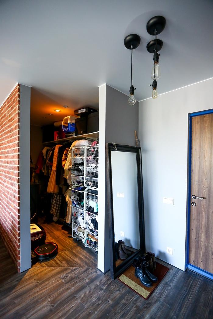 Квартира-студия 33 м в стиле лофт в Москве.