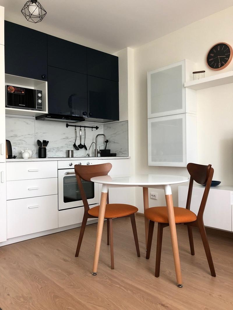 Интерьер квартиры-студии 30 м (в т.