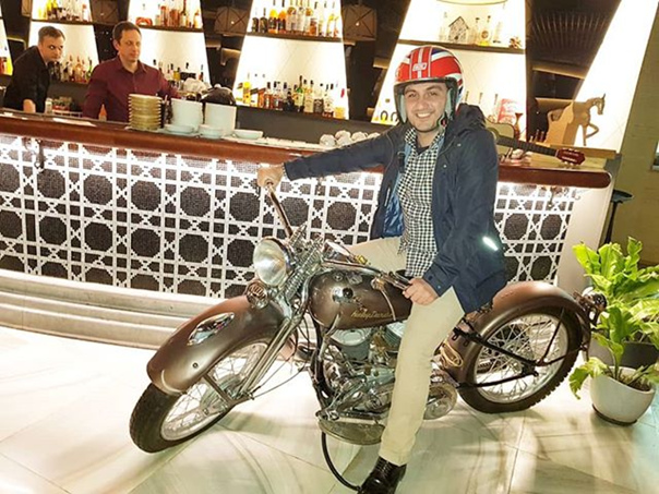 Давид Хаханов: Harley Davidson & Davidson Khakhanov. Доброе утро! ✌️