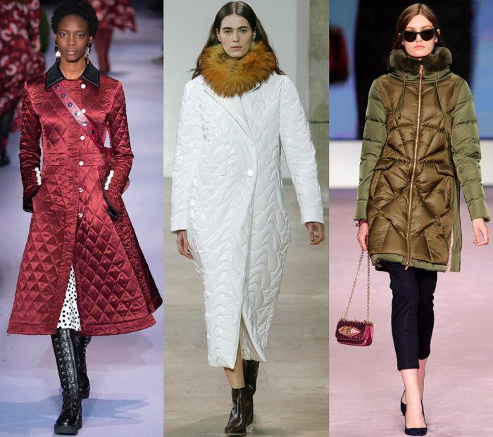Модные стеганые куртки