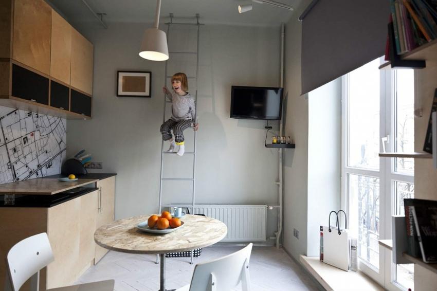 Маленькая квартира 22 м для мамы с сыном.