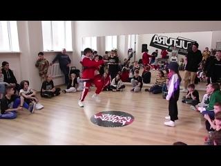 KULTURA BATTLE| ПОЛУФИНАЛ HIP-HOP KIDS| Малый повзрослел vs Малая